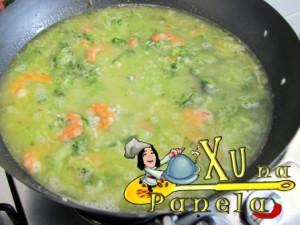 cozinhar o risoto