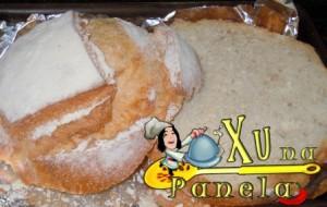 cortar o pão ao meio