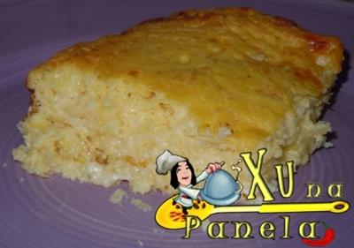 sopa paraguaia assada milho queijo fubá