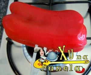 pimentão vermelho: como descascar