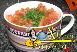 arroz carne tomate
