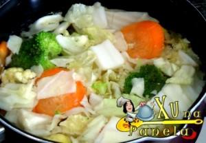 legumes para yakisoba