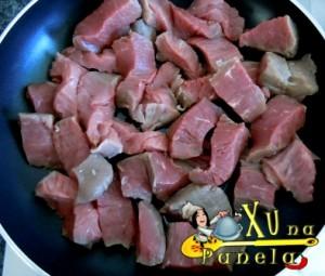 fritar a carne
