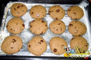 cookies de gotas de chocolate