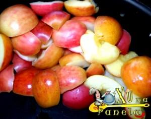 maçãs cozidas