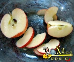 semi-luas de maçã