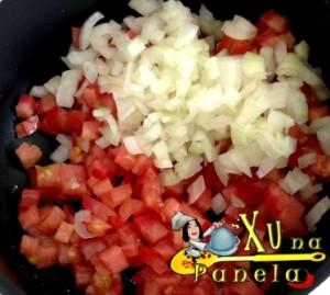 tomate e cebola