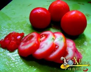 picar os tomates